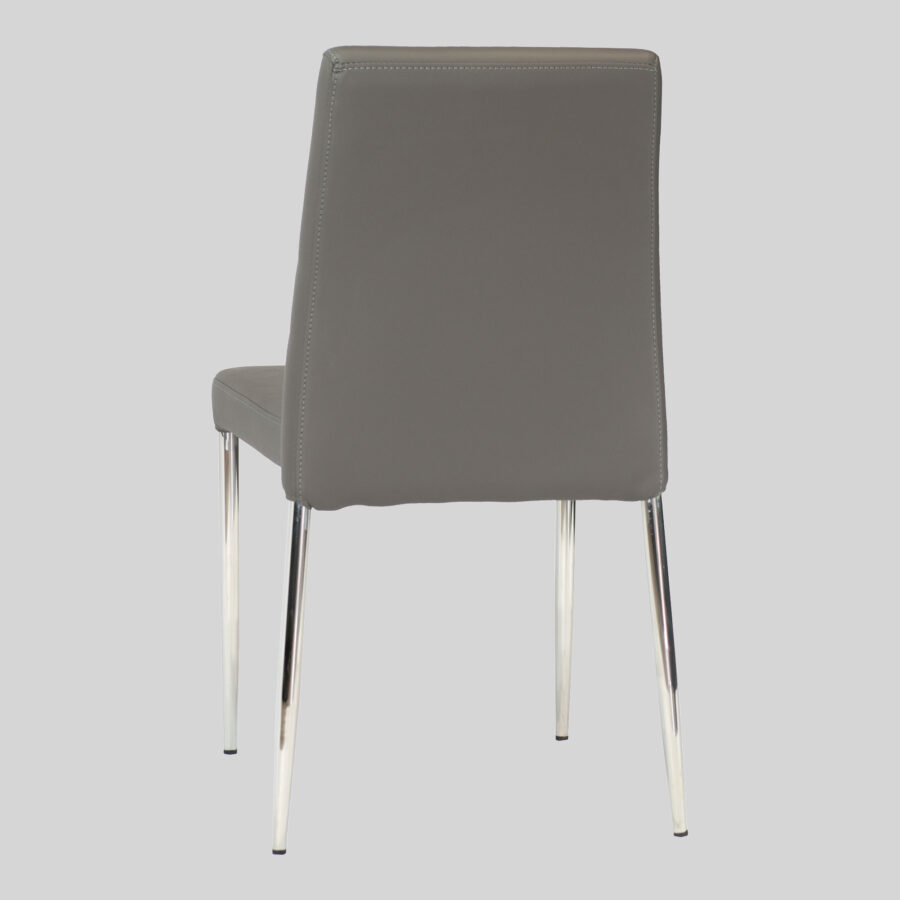 Adelaide Low Back Stackable Chair - Charcoal