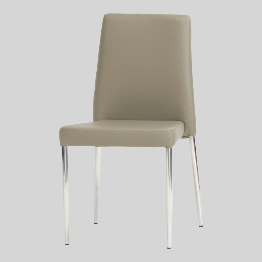 Adelaide Low Back Stackable Chair - Taupe