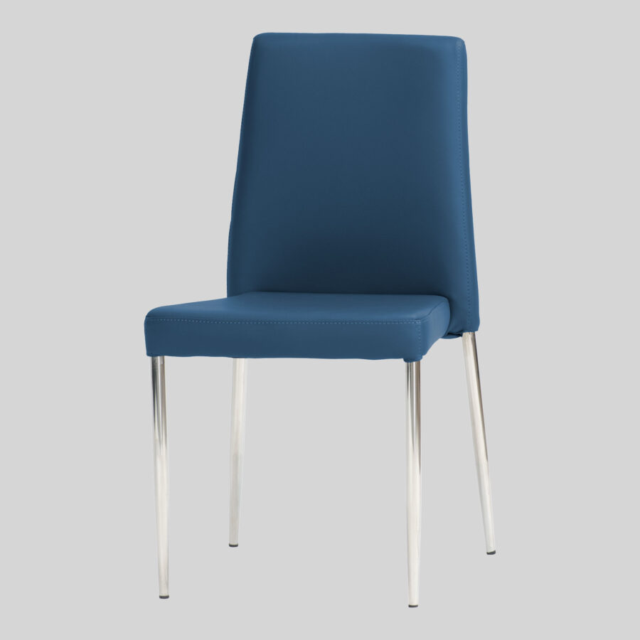 Adelaide Low Back Stackable Chair - Blue