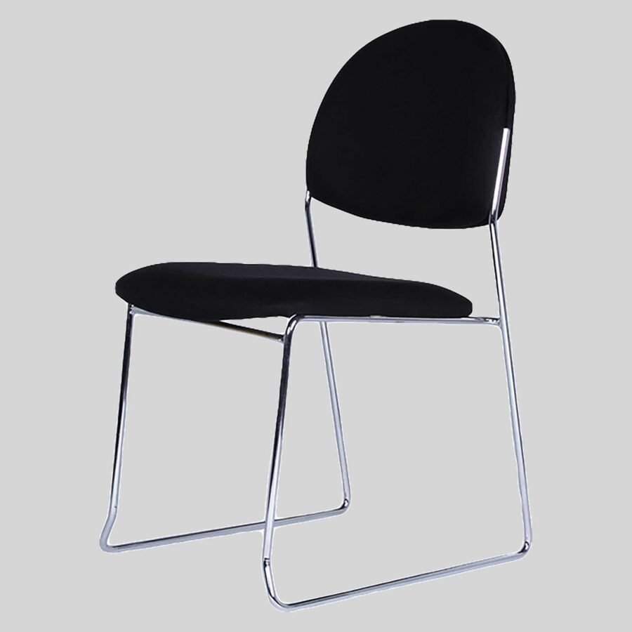Chicago visitor chairs - Black