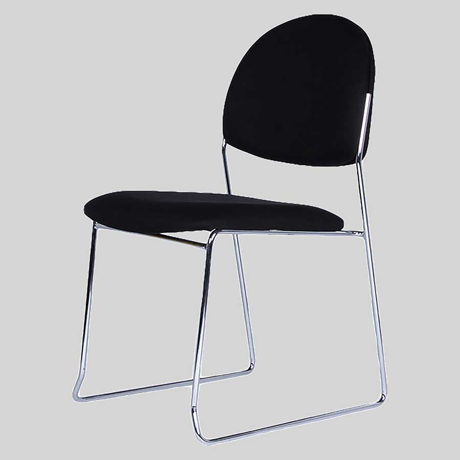 Chicago visitor chair - Black