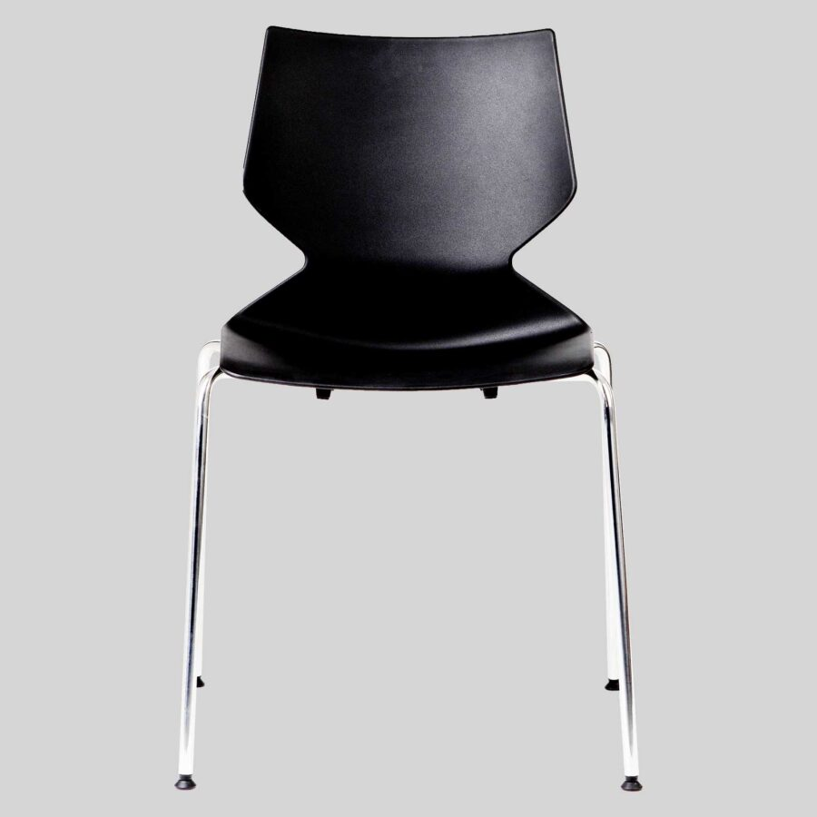 Fly Conference Chair - 4-Leg Black