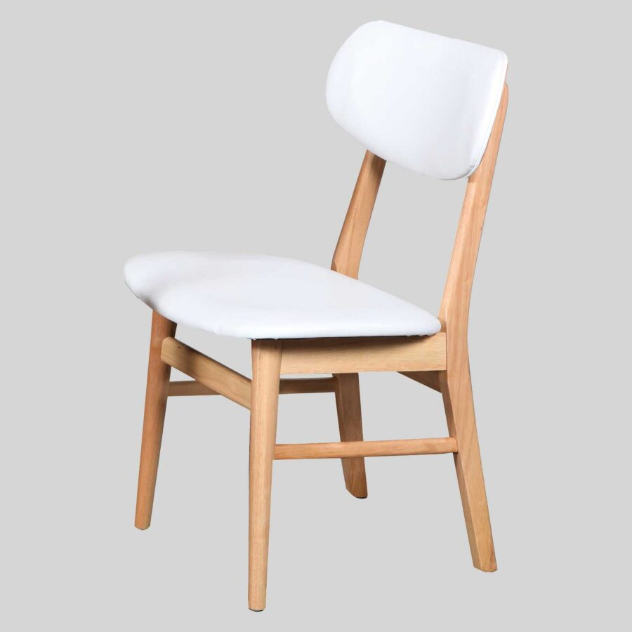 Magnum Table Chair - Natural/White