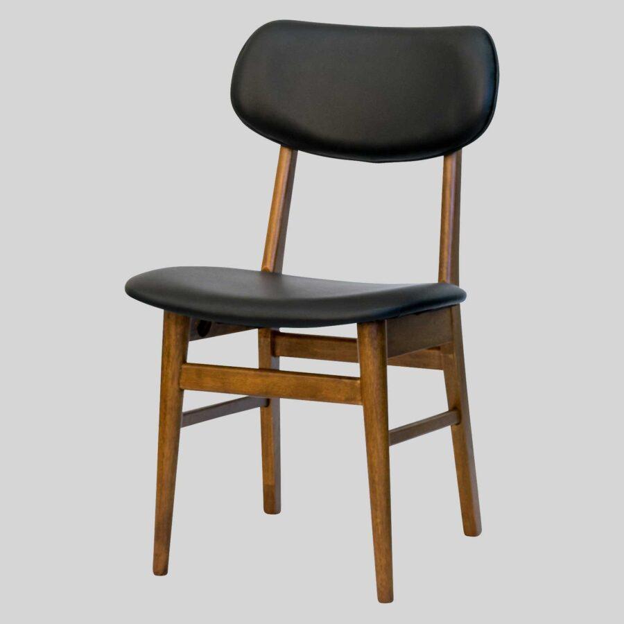 Magnum Table Chair - Teak/Black