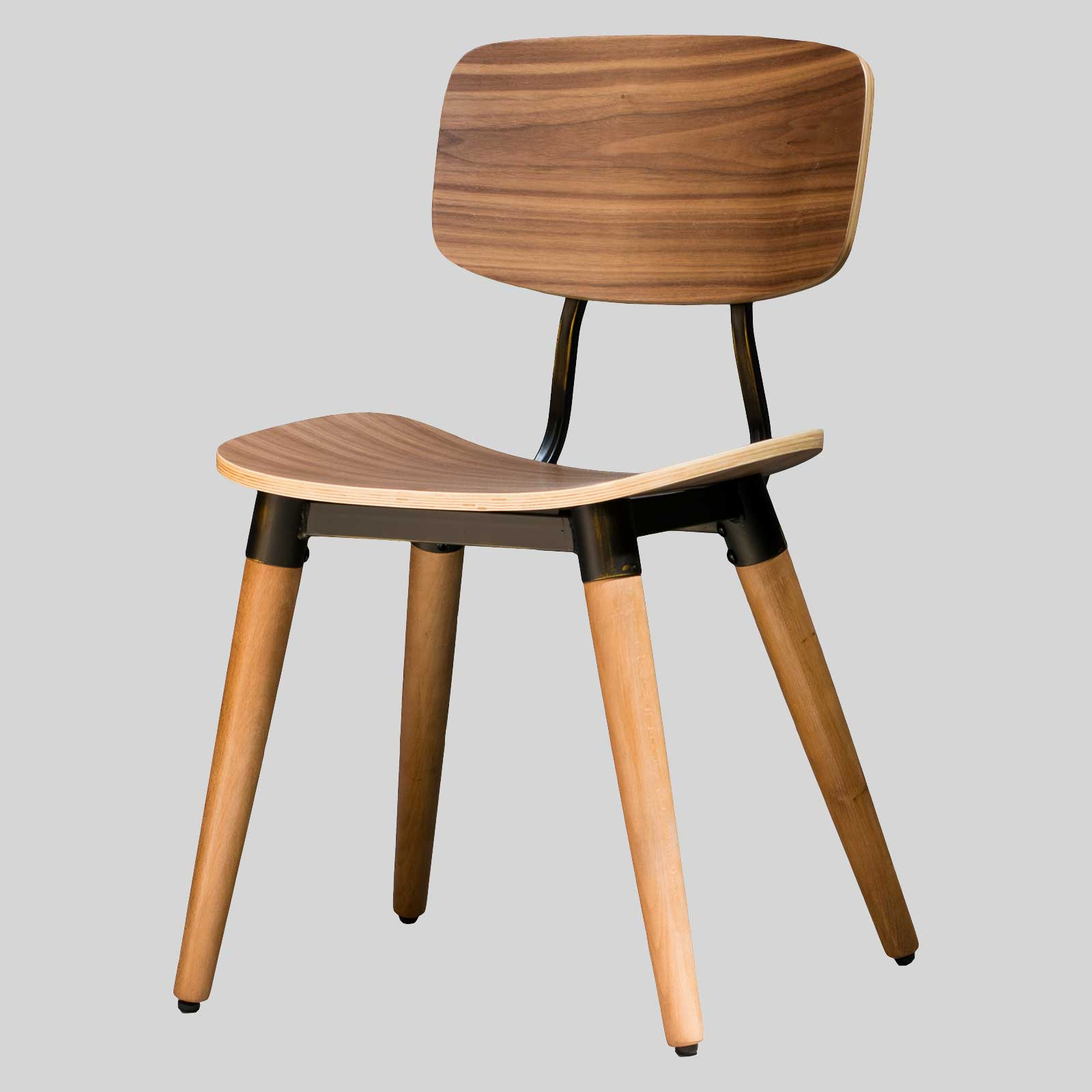 Retro dining chairs for cafes concept collections