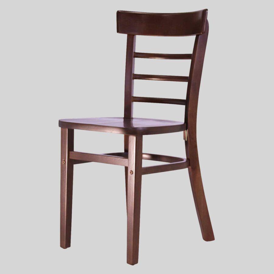 Sheridan Wooden Chair - Chocolate