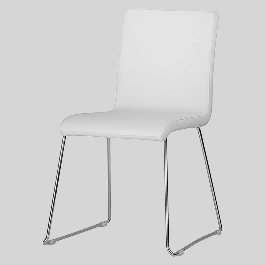 Sofia Upholstered Chairs - White