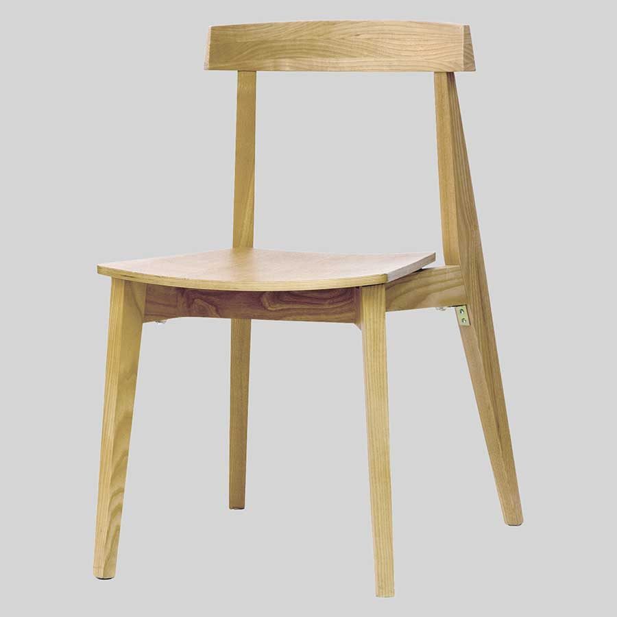Zoltan hospitality chairs - Natural