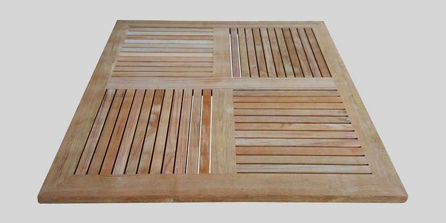 Teak Wood Table Top - Square