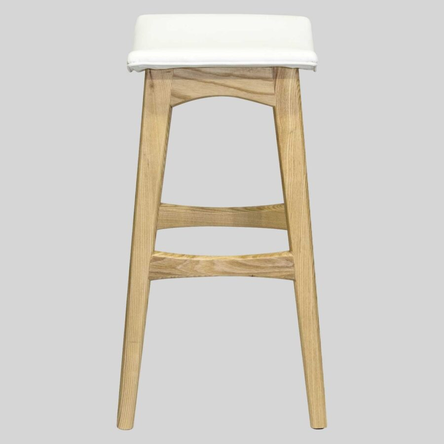 Alex Counter Stool - Natural/White