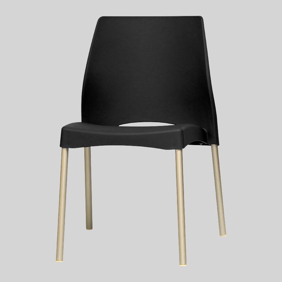 Apollo Australian Cafe Chairs - Black