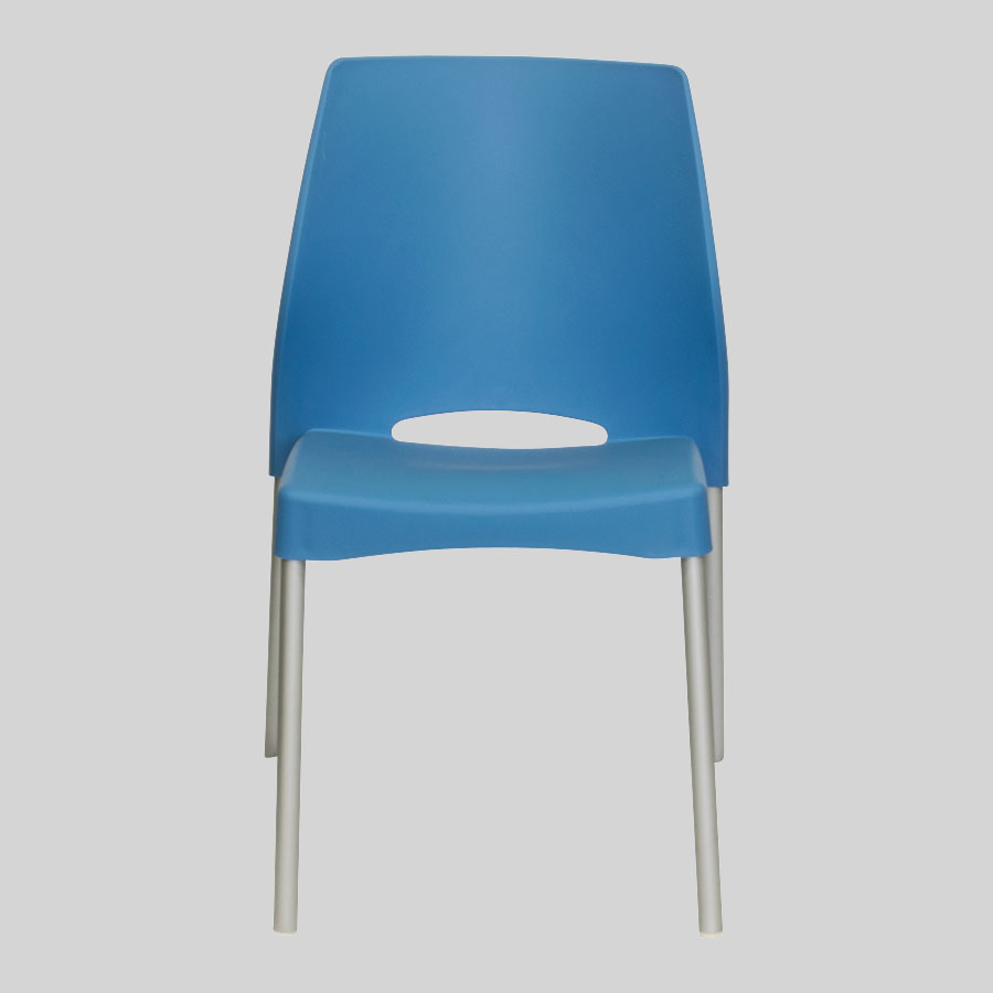 Apollo Australian Cafe Chairs - Blue - Front