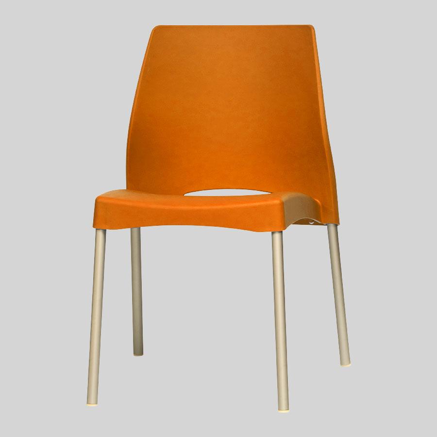 Apollo Australian Cafe Chairs - Orange