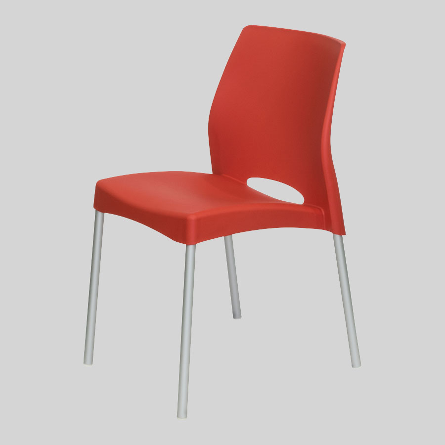 Apollo Australian Cafe Chairs - Red