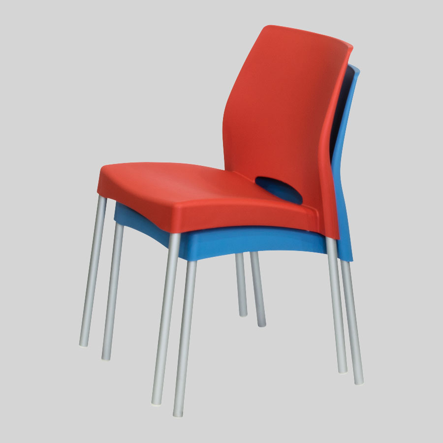 Apollo Australian Cafe Chairs - Stacked