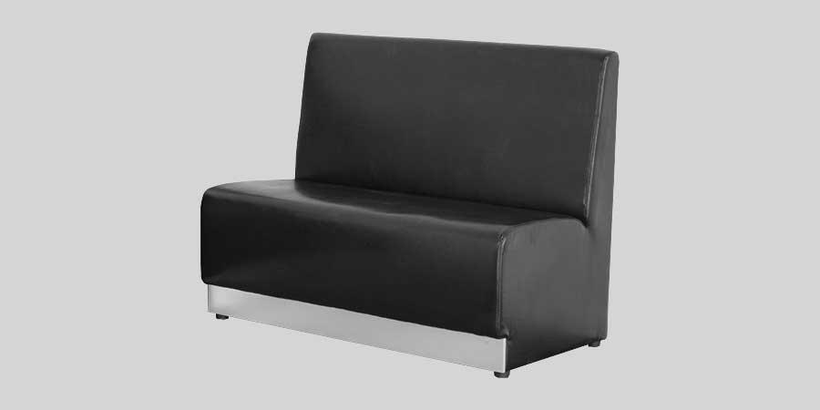 Banquet Restaurant Booths Lounge - Black