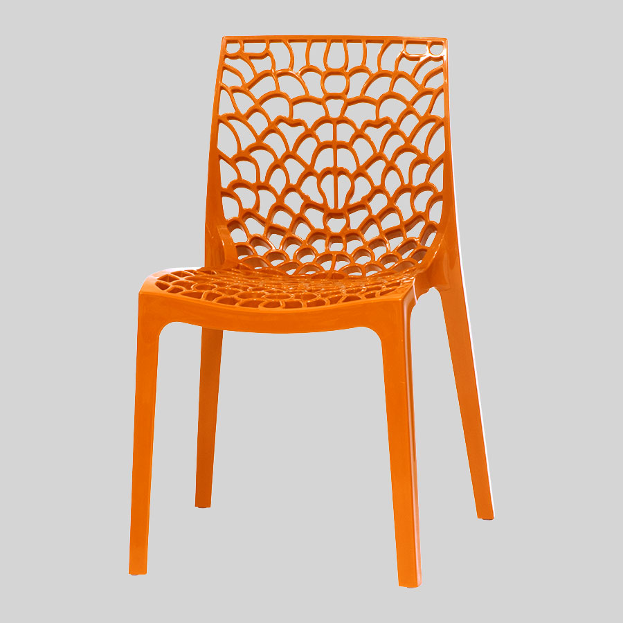 Blaze Outdoor Dining Chairs - Orange