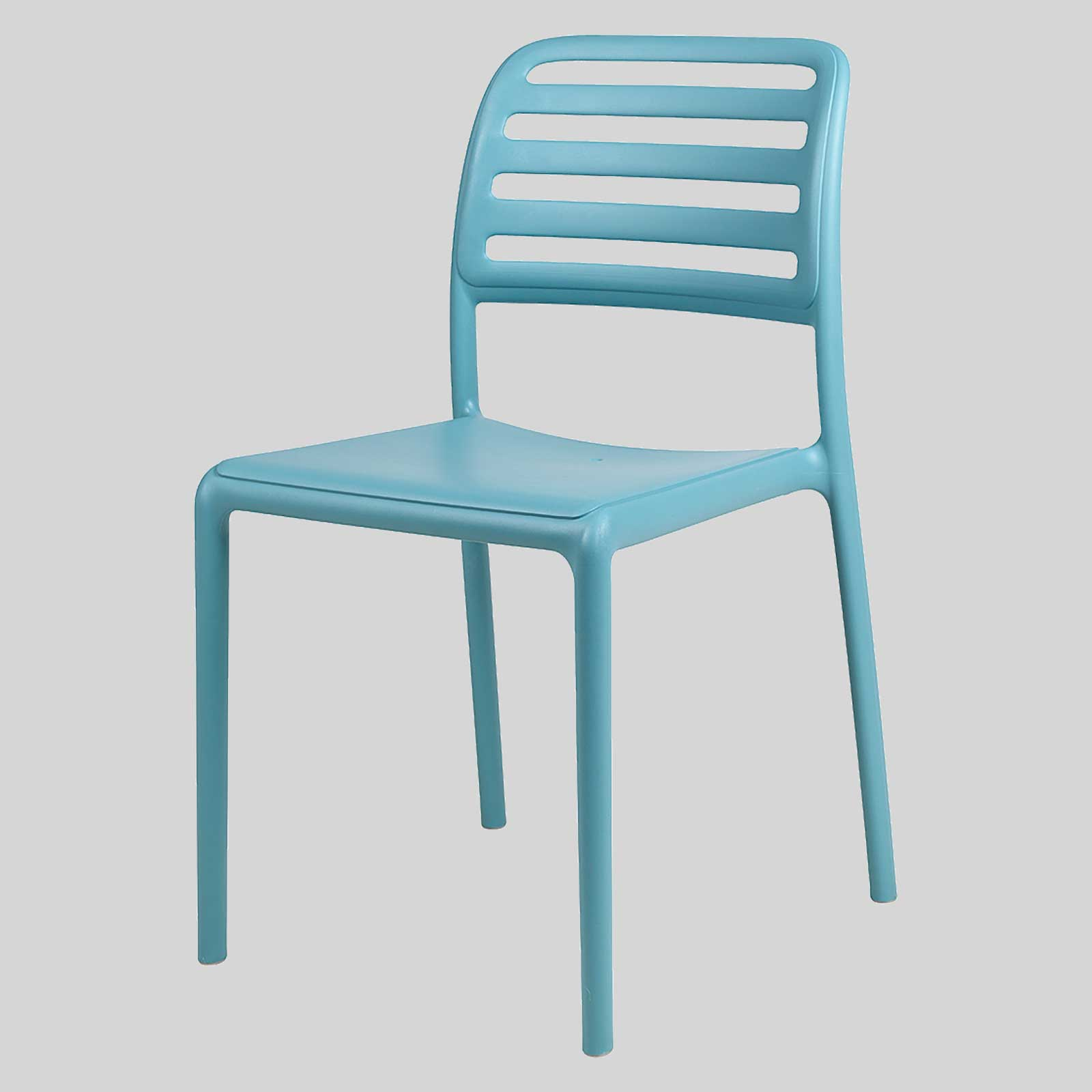 Outdoor cafe chairs - Bosca Outdoor Cafe Chairs Blue