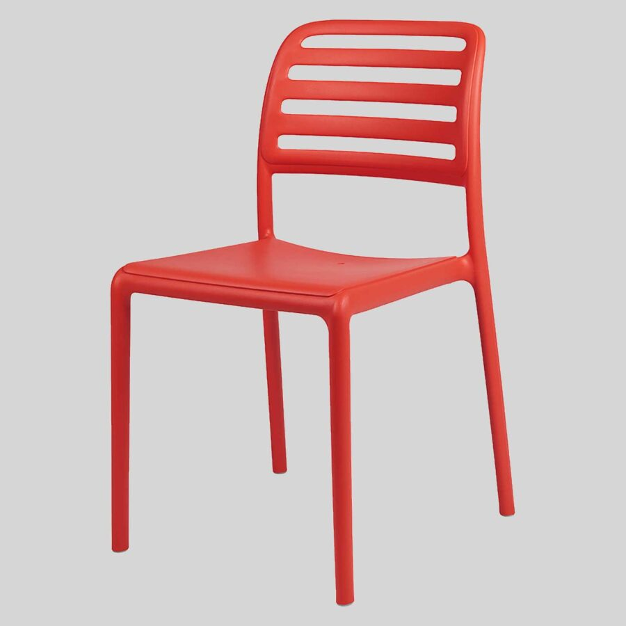 Bosca Outdoor Cafe Chairs - Red