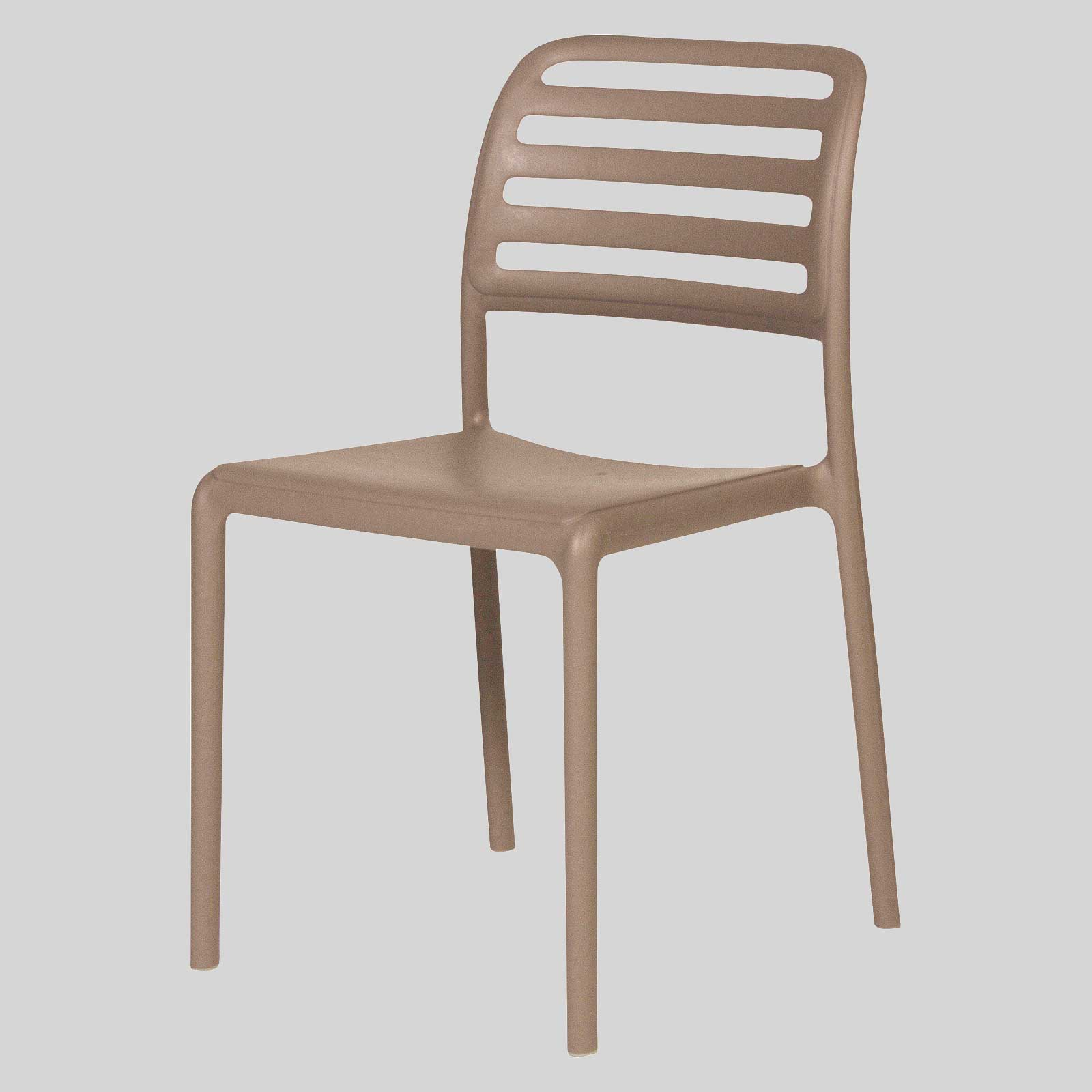 Outdoor cafe chairs - Bosca Outdoor Cafe Chairs Taupe