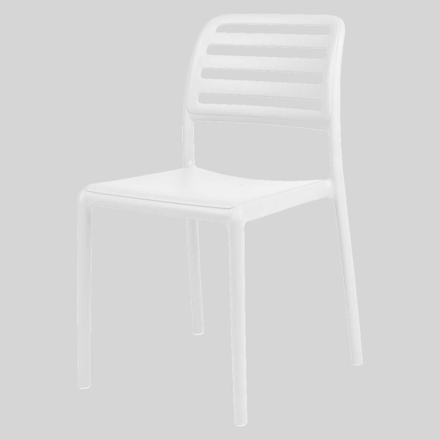 Bosca Outdoor Cafe Chairs - White