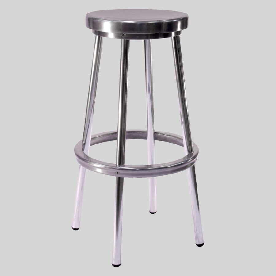 Brooklyn Stool - Aluminium