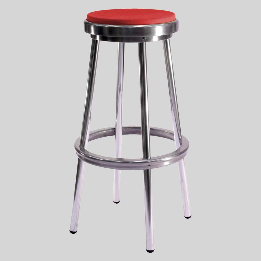 Brooklyn Stool - Red