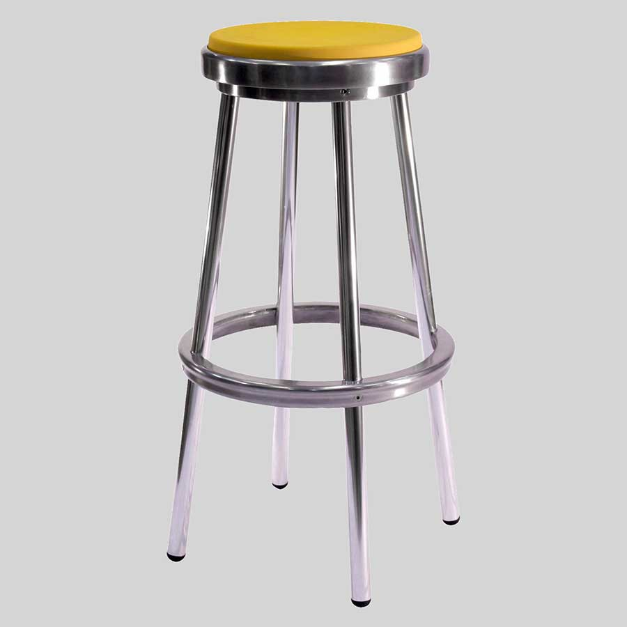 Brooklyn Stool   Yellow