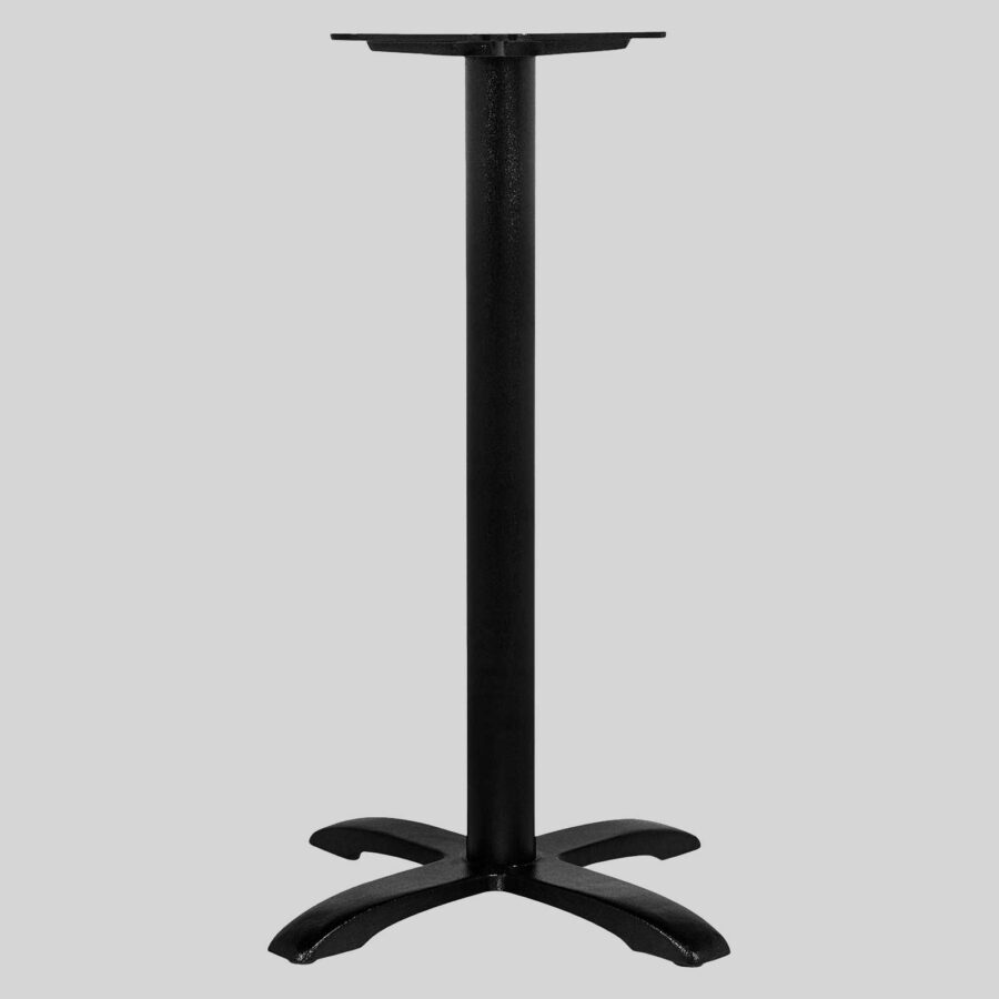 California Cast Iron Table Bases - Single Bar