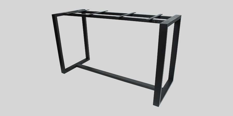 Citadel Bar Table Frame - Black