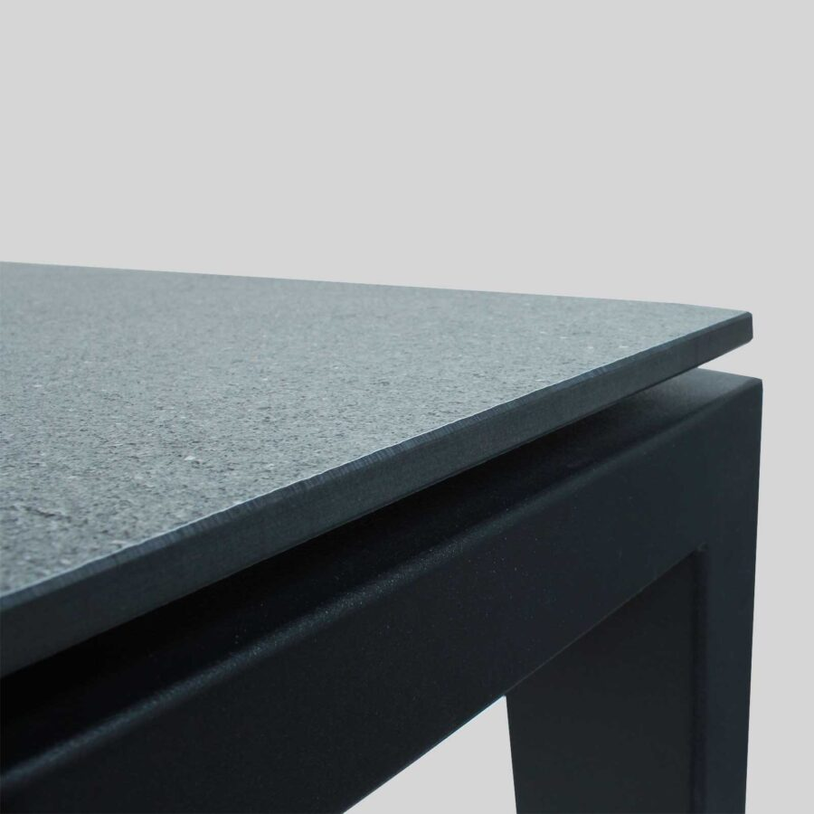 Citadel Bar Table Frame - Close Up - Black