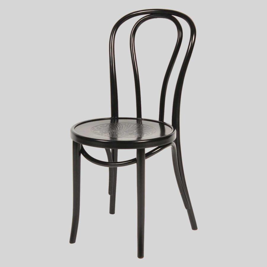 Classique Bentwood Chair - Black - A2