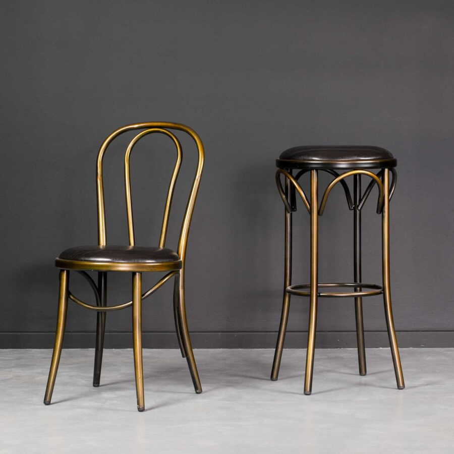 Coleman Bistro Chair and Barstool