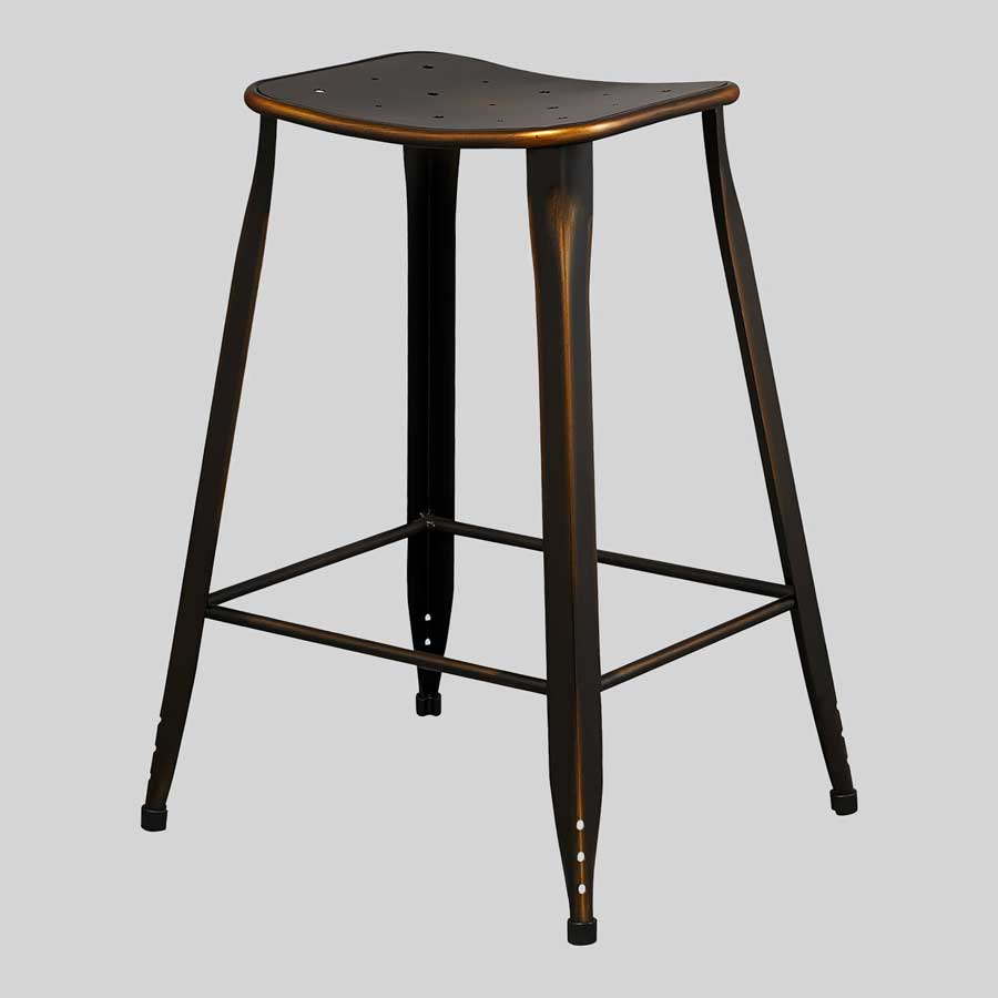 Coleman Stools - Distressed Copper