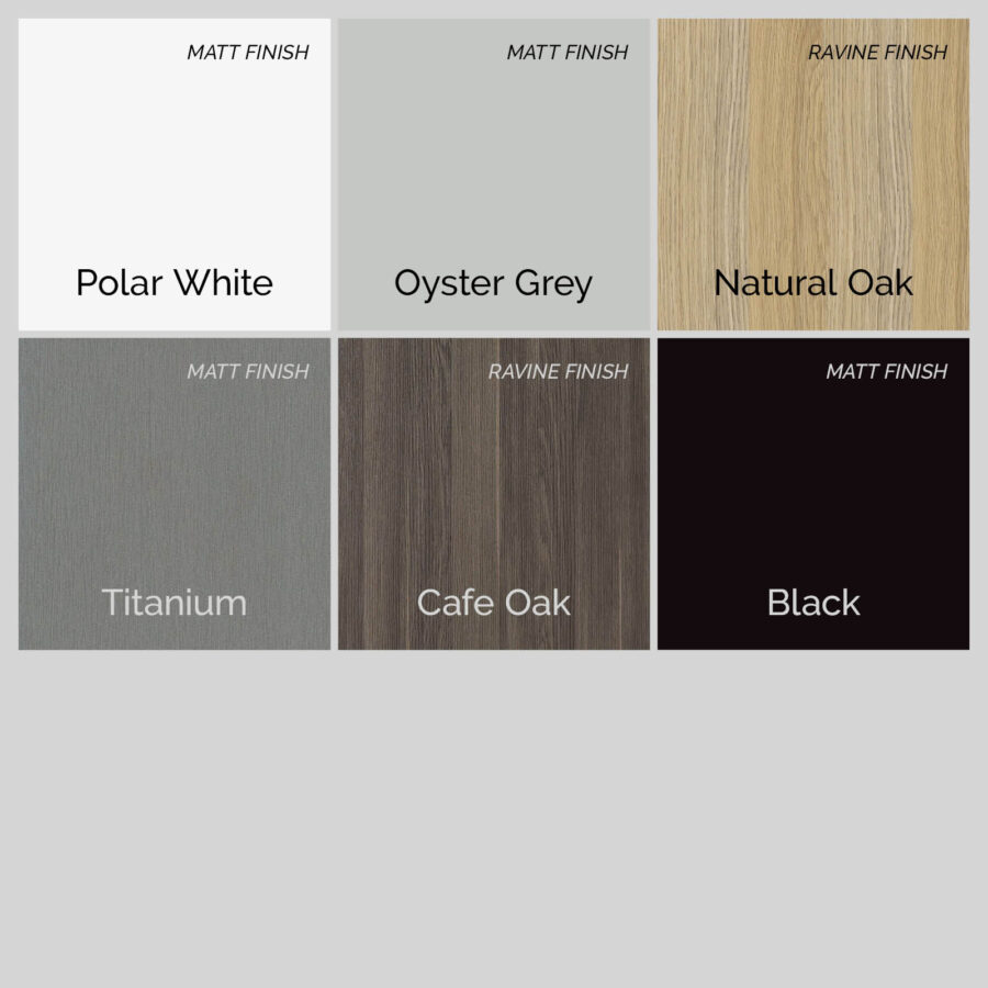 Compact Laminate Table Top Colours