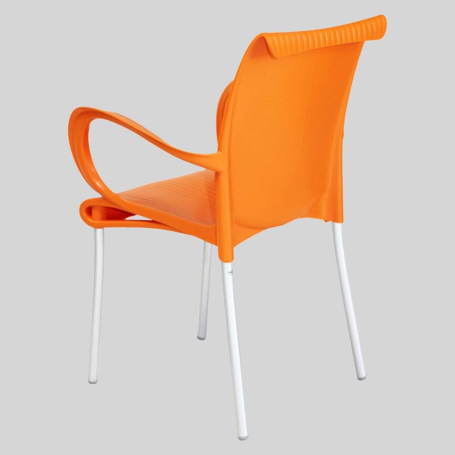 Dawson Armchair --Orange