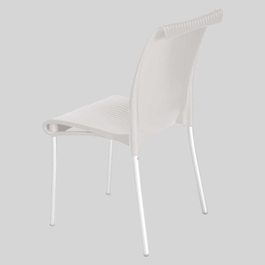 Dawson Cafe Outdoor Furniture - White