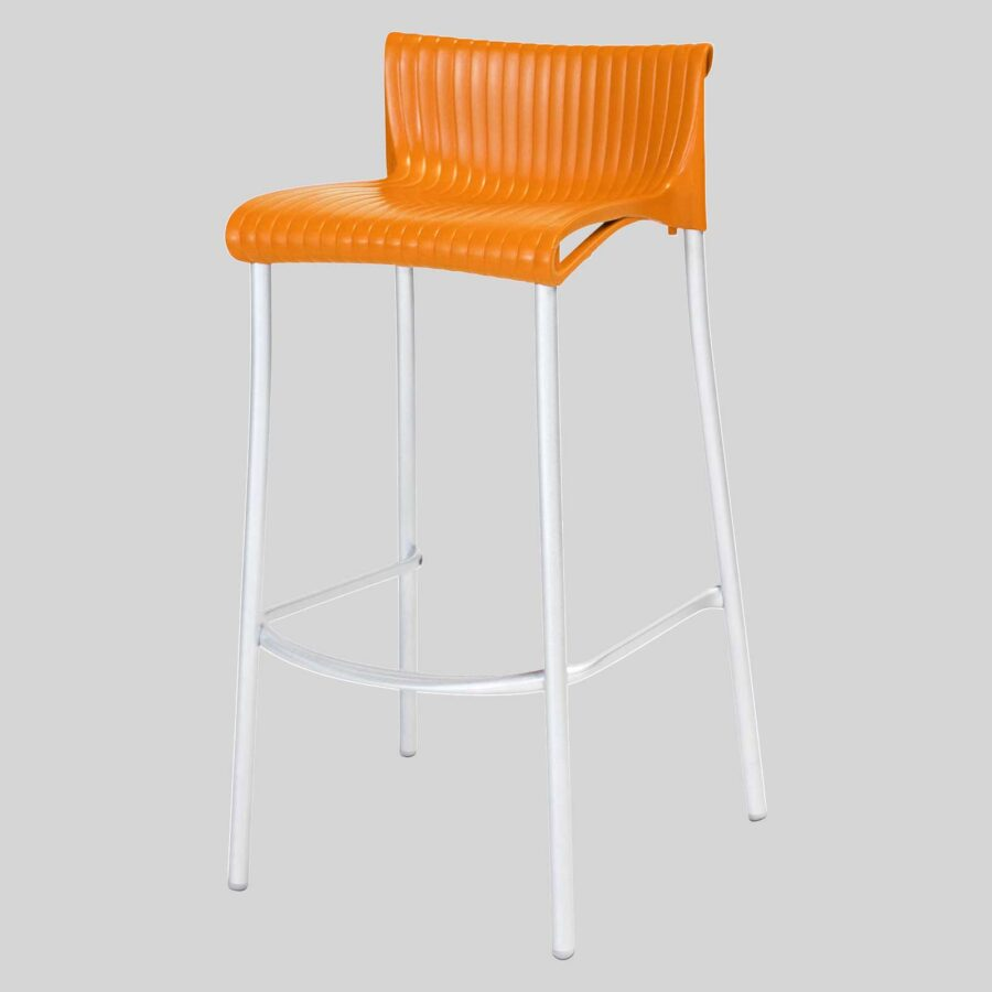 Daytona Stool - Orange