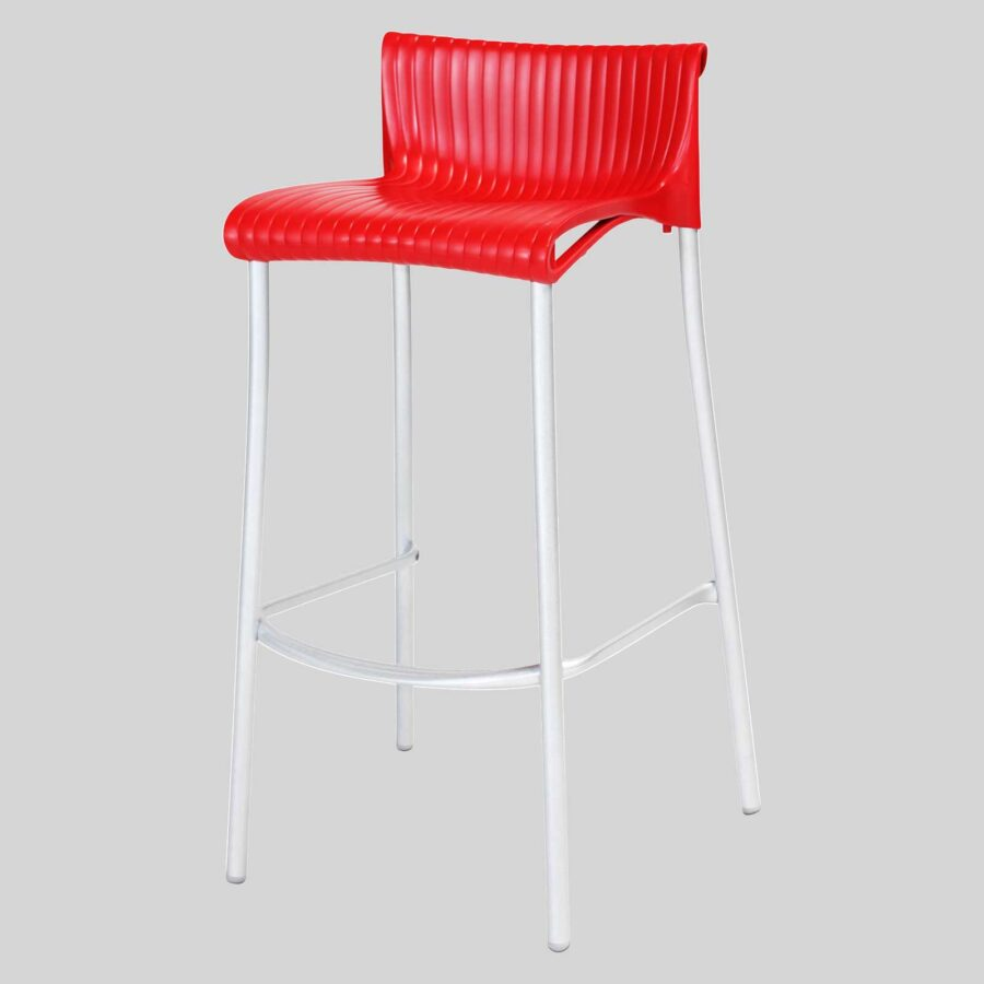 Daytona Stool - Red