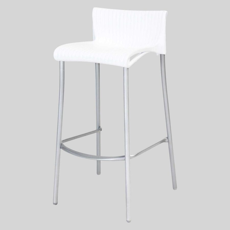 Daytona Stool - White