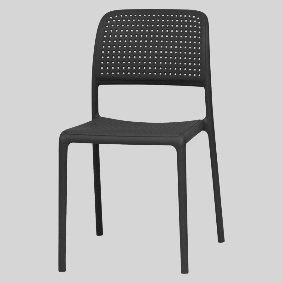 Dora Plastic Chairs - Anthracite