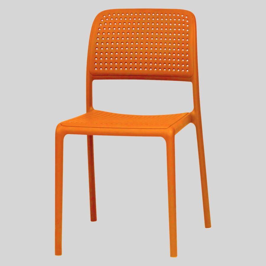 Dora Plastic Chairs - Orange