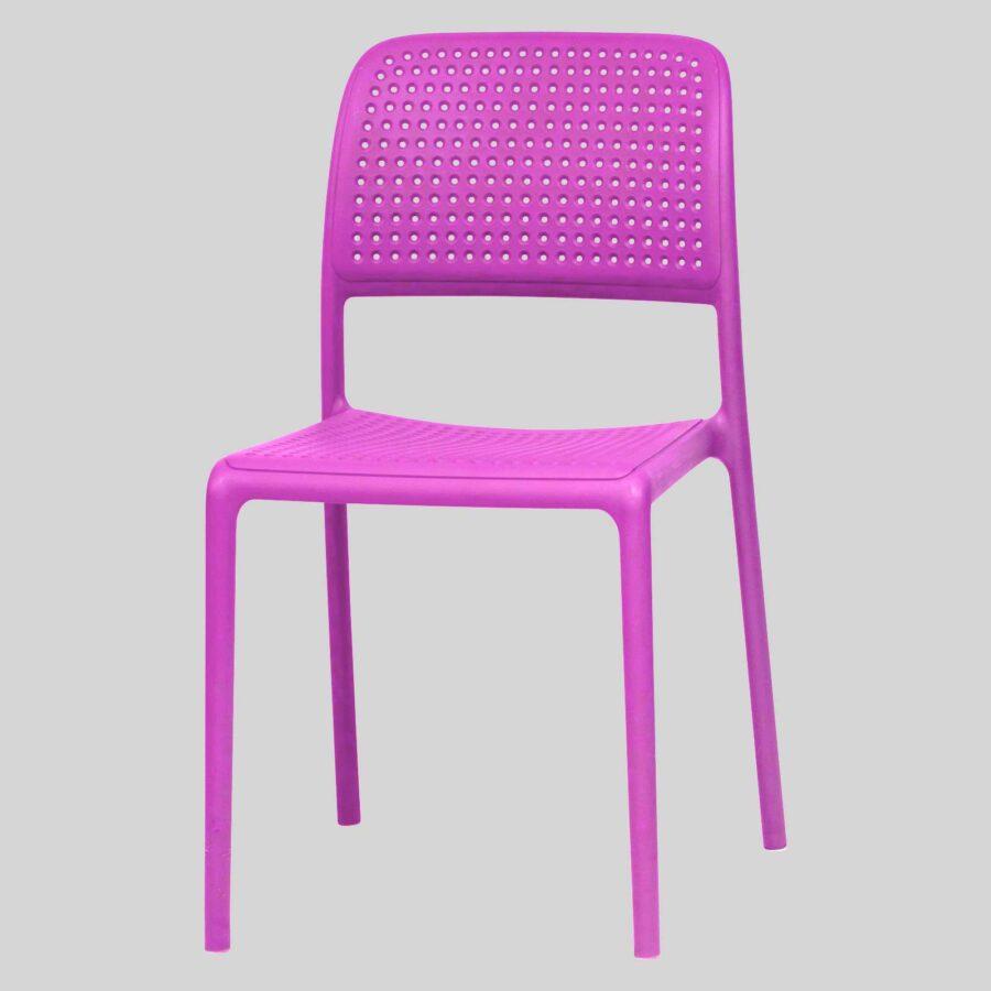 Dora Plastic Chairs - Purple