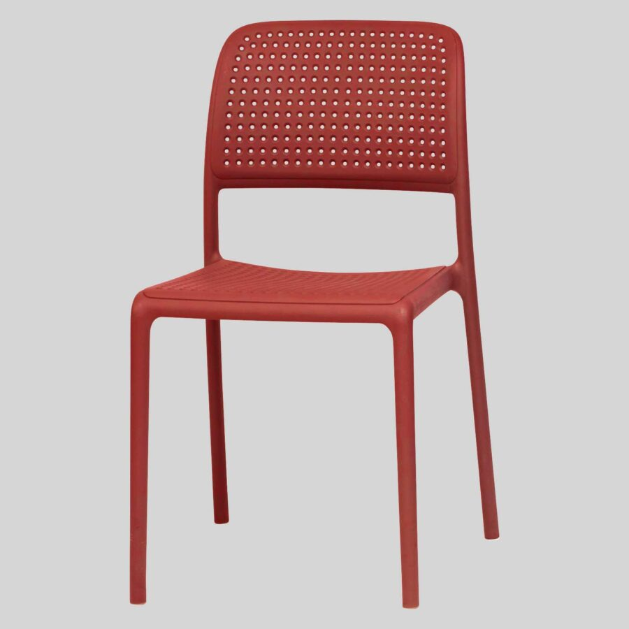 Dora Plastic Chairs - Red