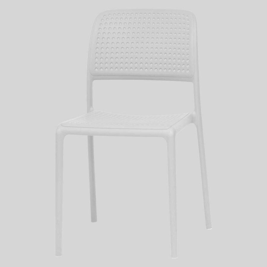 Dora Plastic Chairs - White