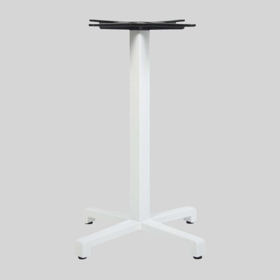 Dynamo Commercial Dining Table Base - White