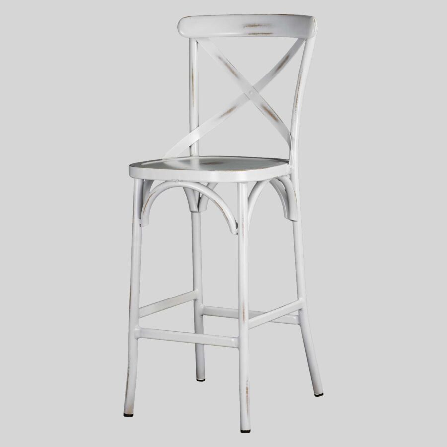 Florence Barstool - Antique White