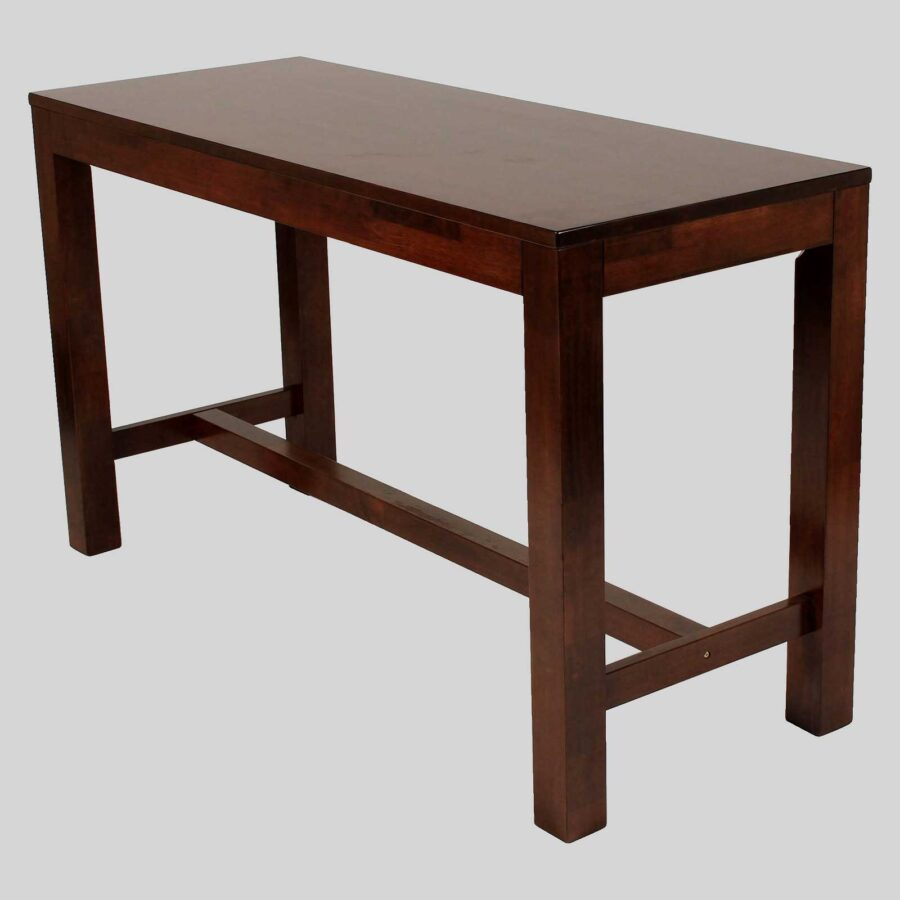 Funk 1800 commercial bar tables - Walnut