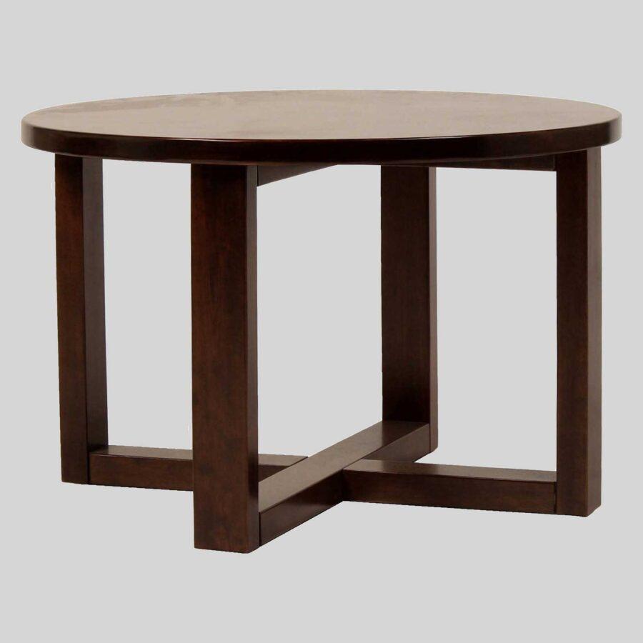 Funk Coffee Tables for Restaurants - Side - Walnut