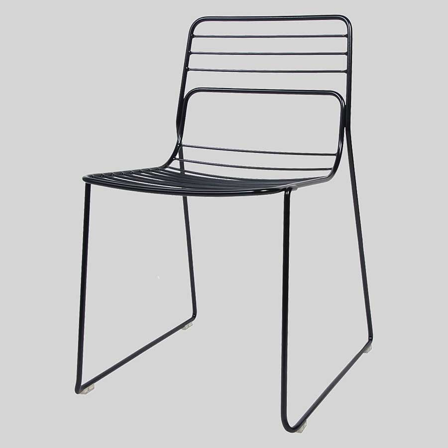 Gauge Metal Chairs - Black